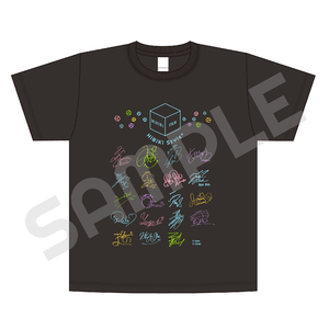 複製サイン入りTシャツ【HiBiKi StYle+ ver.】